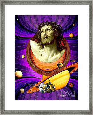 Among Jupiter's Moons Framed Print