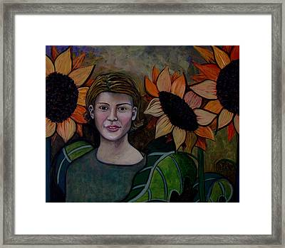 Among Kin Framed Print by Monica Furlow