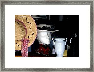 Among My Past Framed Print by Jez C Self
