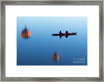 Among The Heavens Framed Print