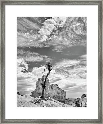 Among The Hoodoos Framed Print by Joseph Smith