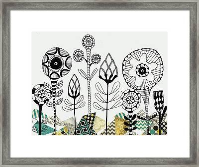 Among The Rocks Framed Print by Lisa Noneman