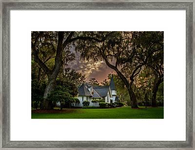 Amongst Mighty Oaks Framed Print