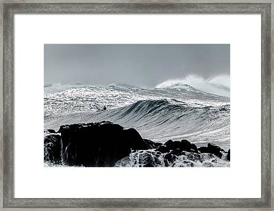 Amongst The Elements Framed Print