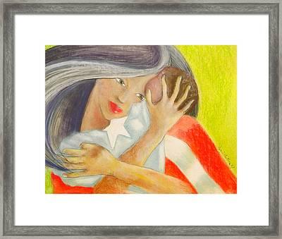 Amor Eterno Framed Print