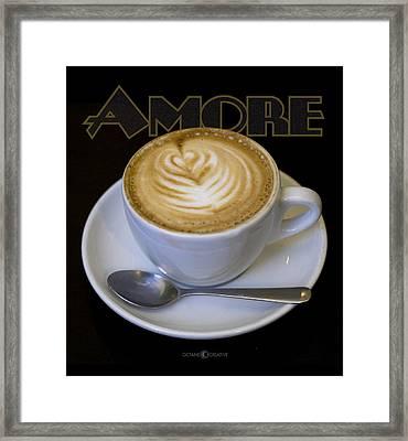 Amore Poster Framed Print