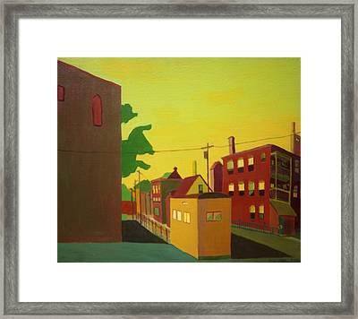 Amory Street Jamaica Plain Framed Print by Debra Bretton Robinson
