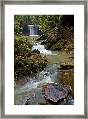 Amos Falls Kentucky Framed Print
