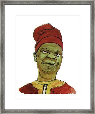 Amos Tutuola Framed Print