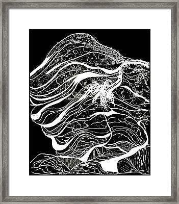 Amphitheatre Bundanon Framed Print