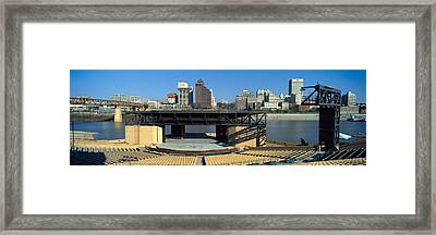 Amphitheatre On Island In Middle Framed Print by Panoramic Images