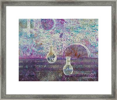 Amphora-through The Looking Glass Framed Print