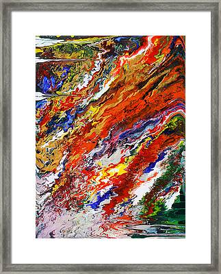 Amplify Framed Print by Ralph White