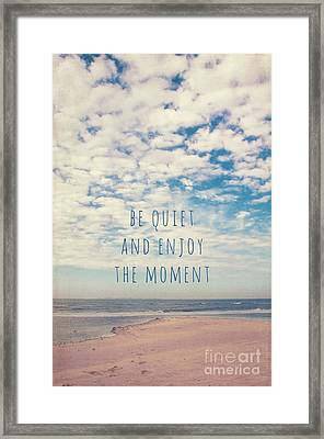 Amrum Moments II Framed Print by Angela Doelling AD DESIGN Photo and PhotoArt