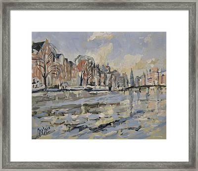 Amstel Amsterdam Framed Print