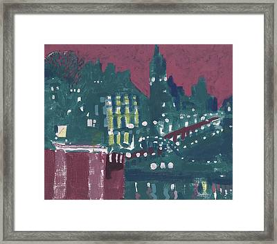 Amsterdam At 4am Framed Print by Jerry W McDaniel