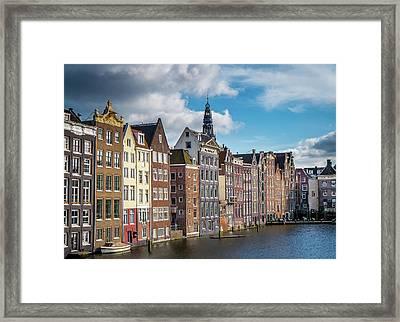 Amsterdam Buildings Framed Print