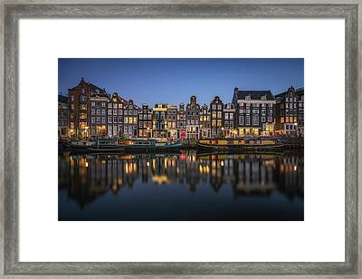 Amsterdam Canals Framed Print by Reinier Snijders