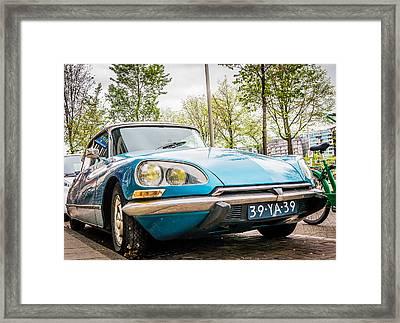 Amsterdam Citroen Framed Print