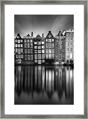 Amsterdam, Damrak II Framed Print by Ivo Kerssemakers