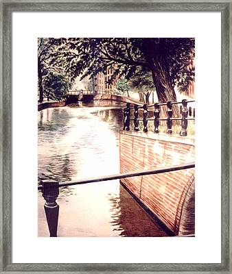 Amsterdam Framed Print by L Lauter