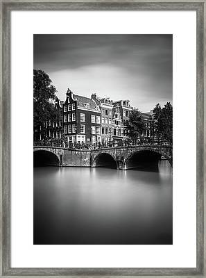 Amsterdam, Leliegracht Framed Print by Ivo Kerssemakers