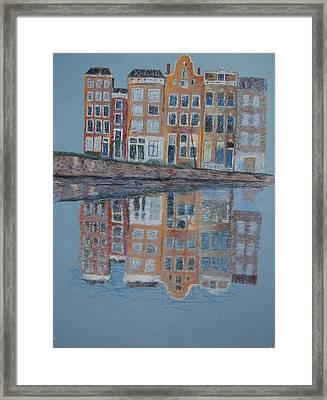Amsterdam Framed Print by Marina Garrison