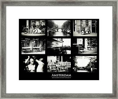 Amsterdam Mix. Amsterdam By Jenny Rainbow Framed Print by Jenny Rainbow