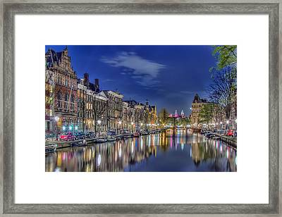 Amsterdam Reflections Framed Print