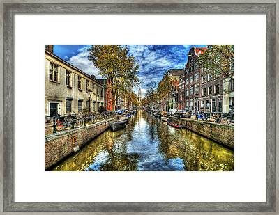Amsterdam Framed Print by Svetlana Sewell