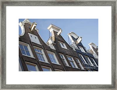 Framed Print featuring the photograph Amsterdam by Wilko Van de Kamp