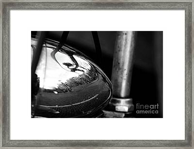Amsterdam's Reflection Framed Print