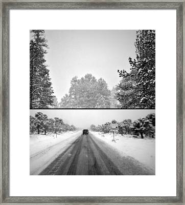 Framed Print featuring the photograph Answer by Mark Ross