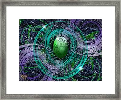 Amulet Framed Print by Greg Piszko