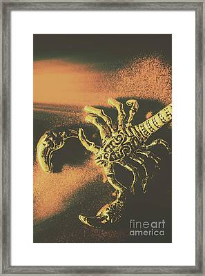 Amulets From The Old Golden Age Framed Print