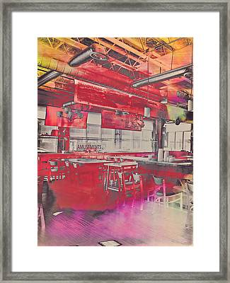 Amusements  Framed Print by Susan Stone