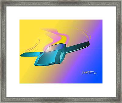 Amx By American Motors Framed Print
