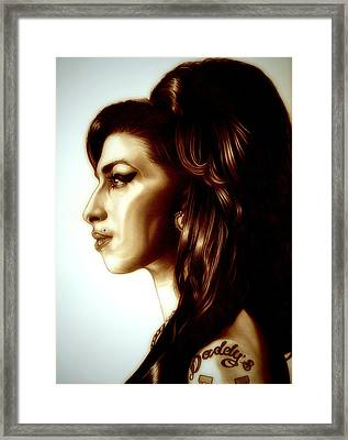 Amy Framed Print by Fred Larucci