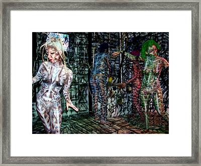 Amy Robot Framed Print by Leigh Odom