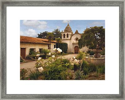 Amy's Carmel Framed Print