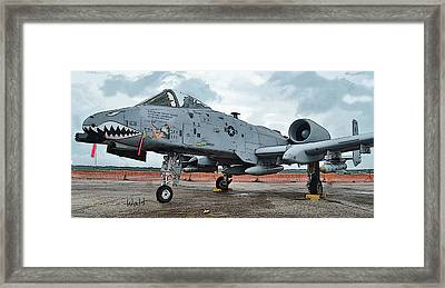 Amy's Jet 6800 Framed Print
