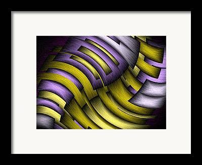 Sloping Framed Prints