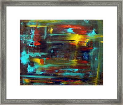 An Abstract Thought Framed Print