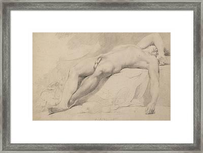 An Academy Framed Print by John Hamilton Mortimer