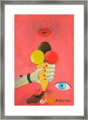 An Accident Framed Print by Moma Bjekovic