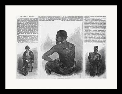Runaway Slaves Framed Prints