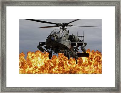 An Ah-64d Apache Longbow Framed Print by Stocktrek Images