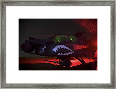 An Ah-64d Apache Longbow Framed Print by Terry Moore