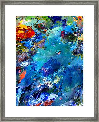 An Alien World View Framed Print by Charlie Spear