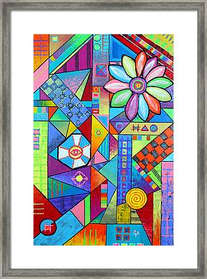An All Seeing Eye Framed Print
